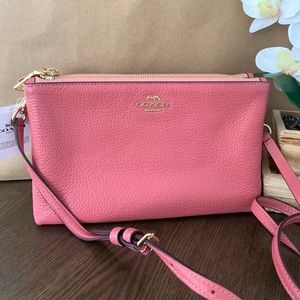 Coach Lyla Double Zip Crossbody F34265
